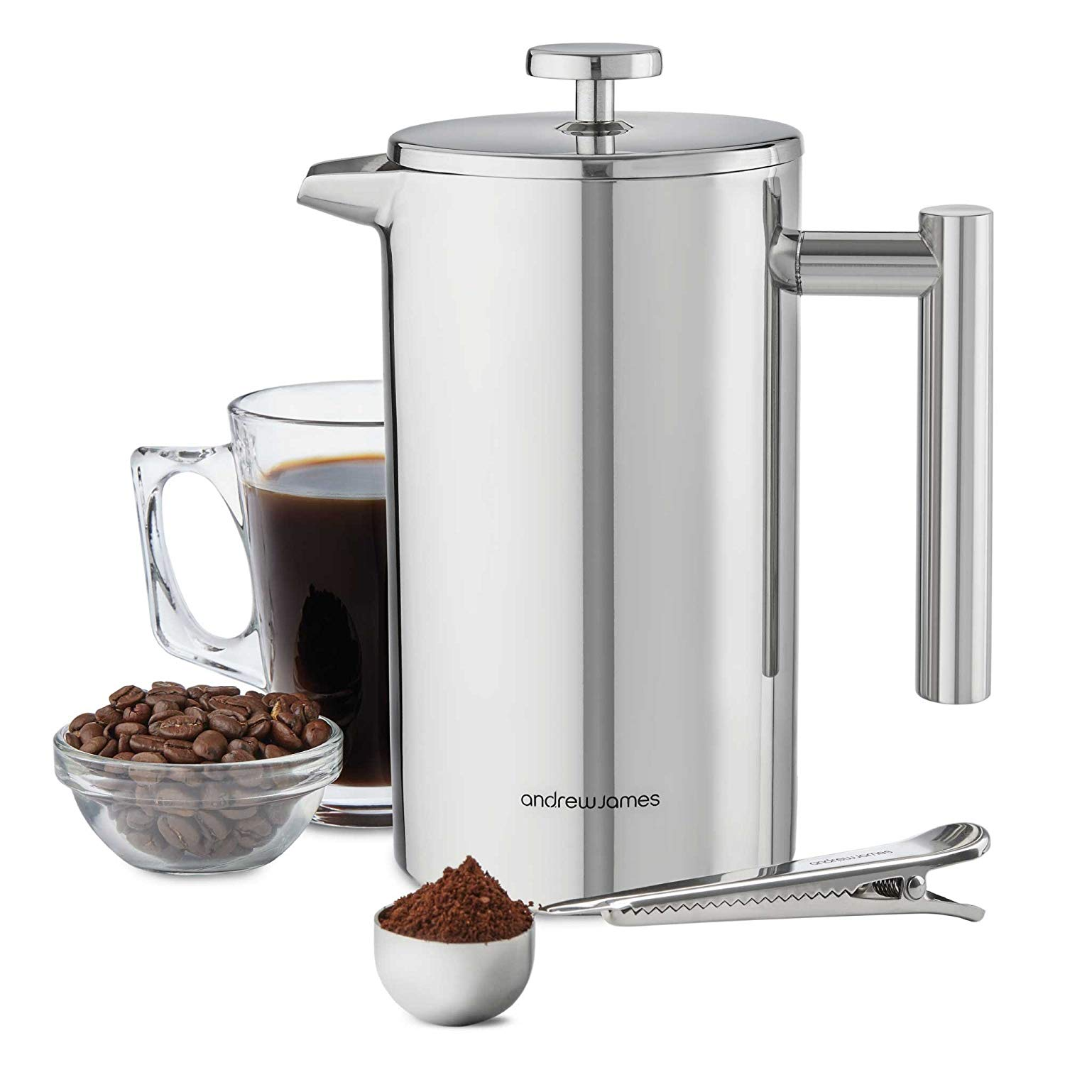 Andrew James Stainless Steel Coffee Press
