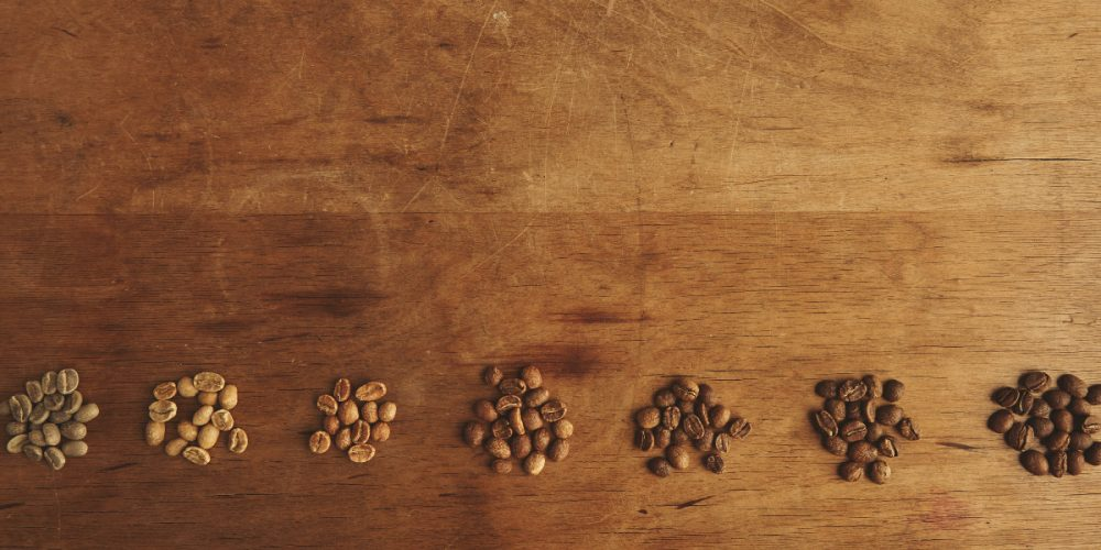 How are coffee beans graded?