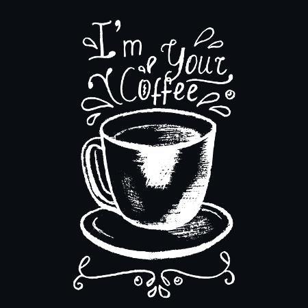 Fancy Chalk Coffee Cup