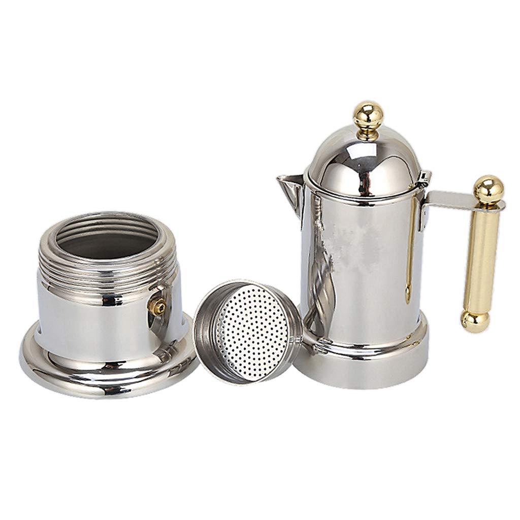 FLAMEER Stovetop Moka Coffee Pot