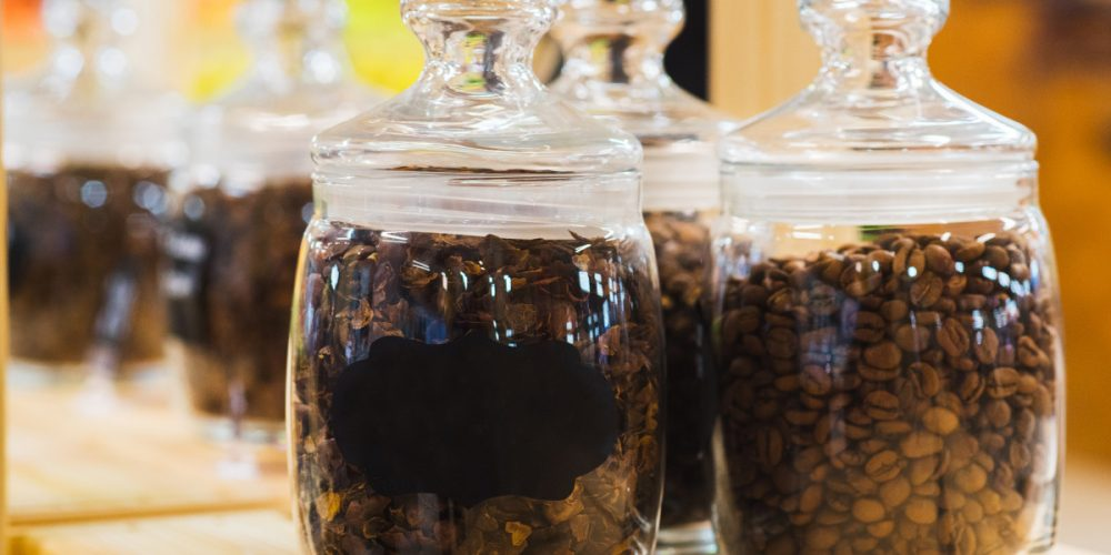 What's the best way to store coffee beans?